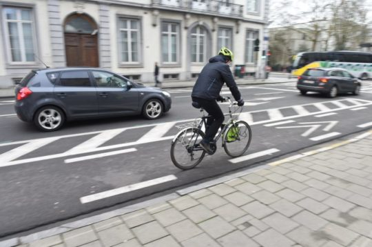 Bruxelles bike lane