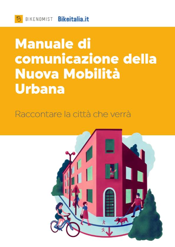 Manuale di comunicazione della Nuova Mobilità Urbana - copertina