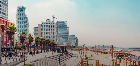 Tel Aviv pedonalizzazione commercio