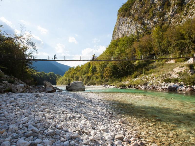 Isonzo, tratto sloveno (credits alpe-adria-trail.com)