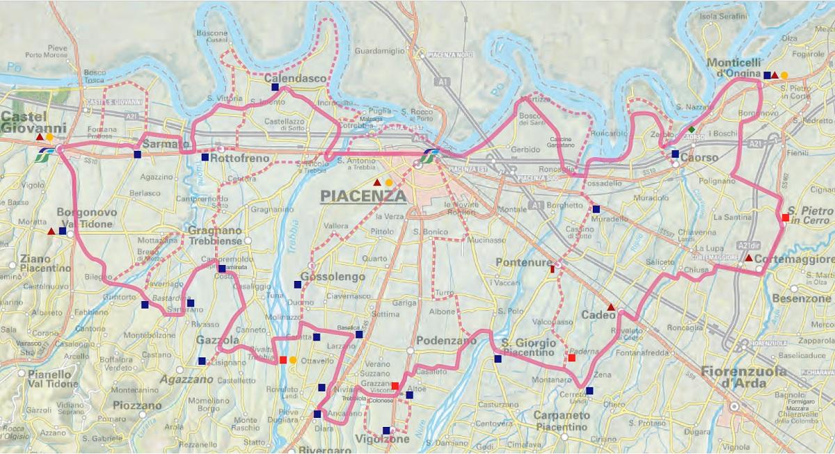 Itinerario Castelli di Pianura