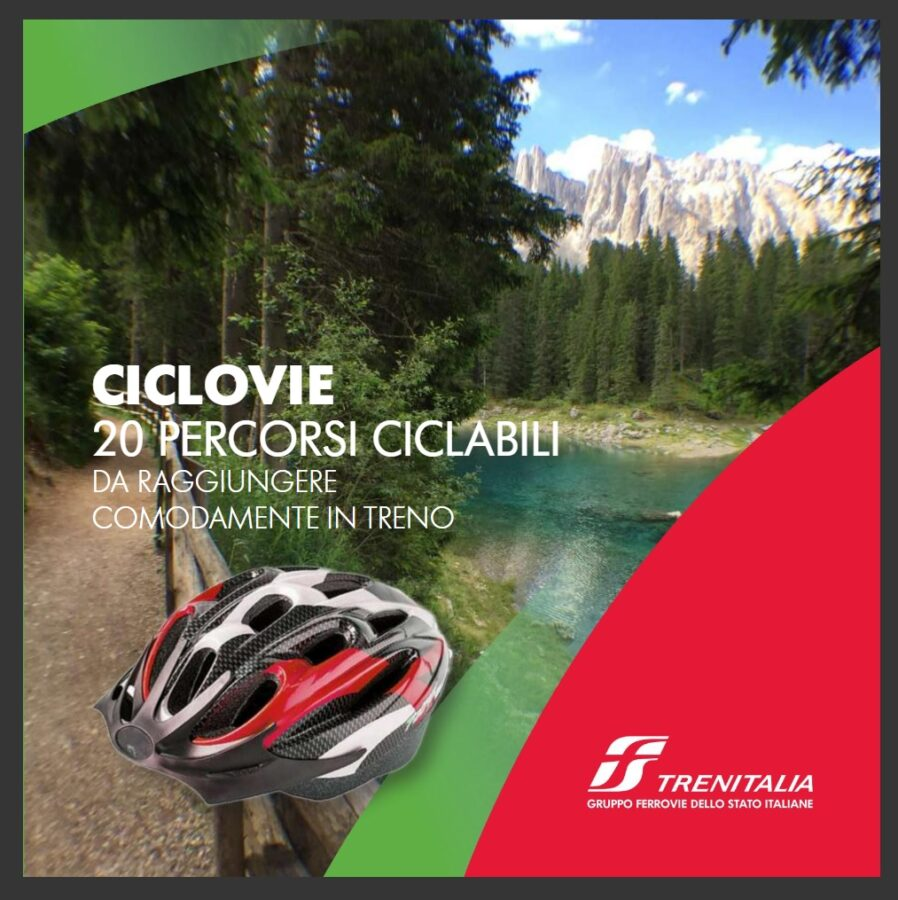 Ciclovie Trenitalia Travel Book