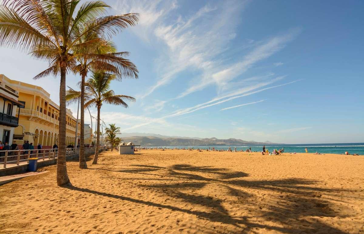 Las Canteras a Las Palmas, Gran Canaria
