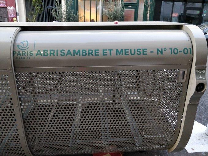 Parigi Bici box