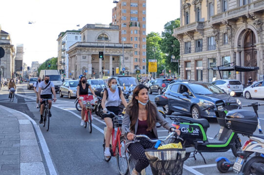 Ciclabile Corso Buenos Aires Milano