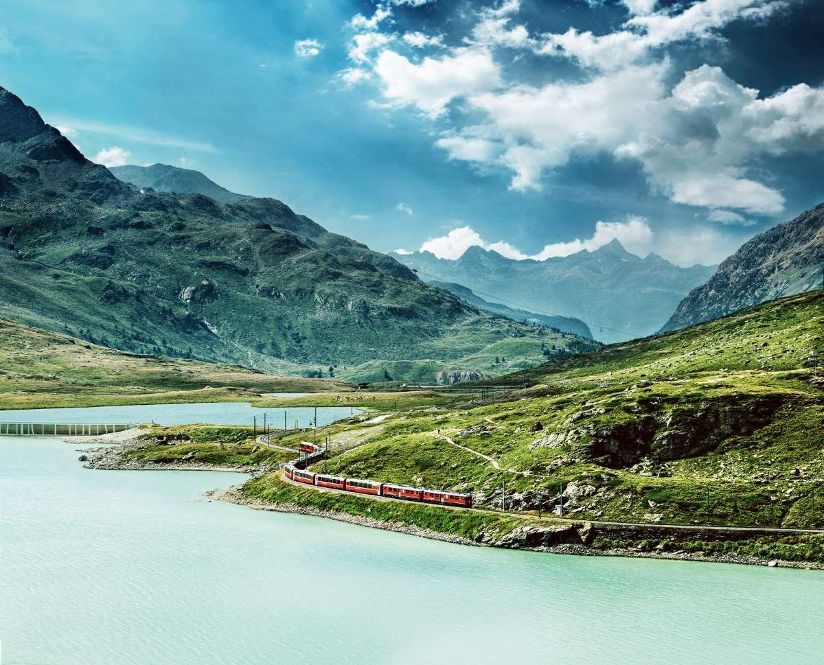 Bernina Express, Svizzera