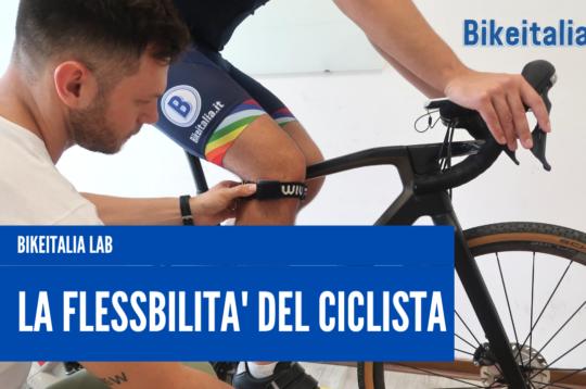 Flessibilità del ciclista