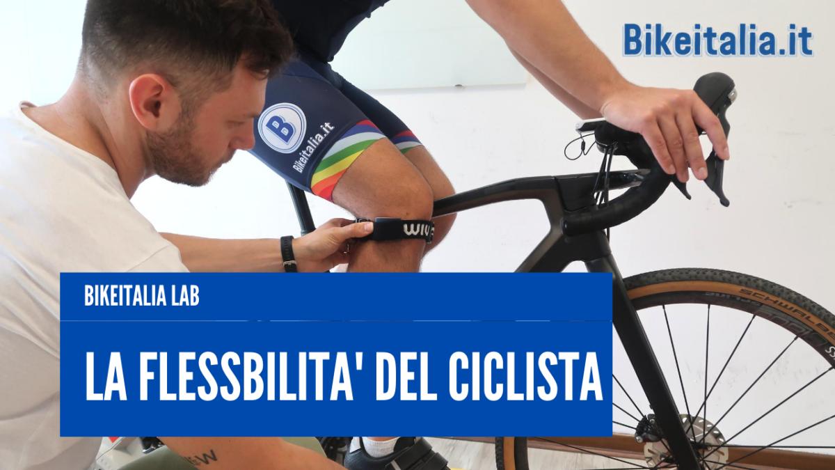 La flessibilità del ciclista