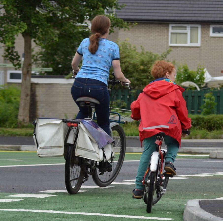 Incrocio ciclabile Manchester