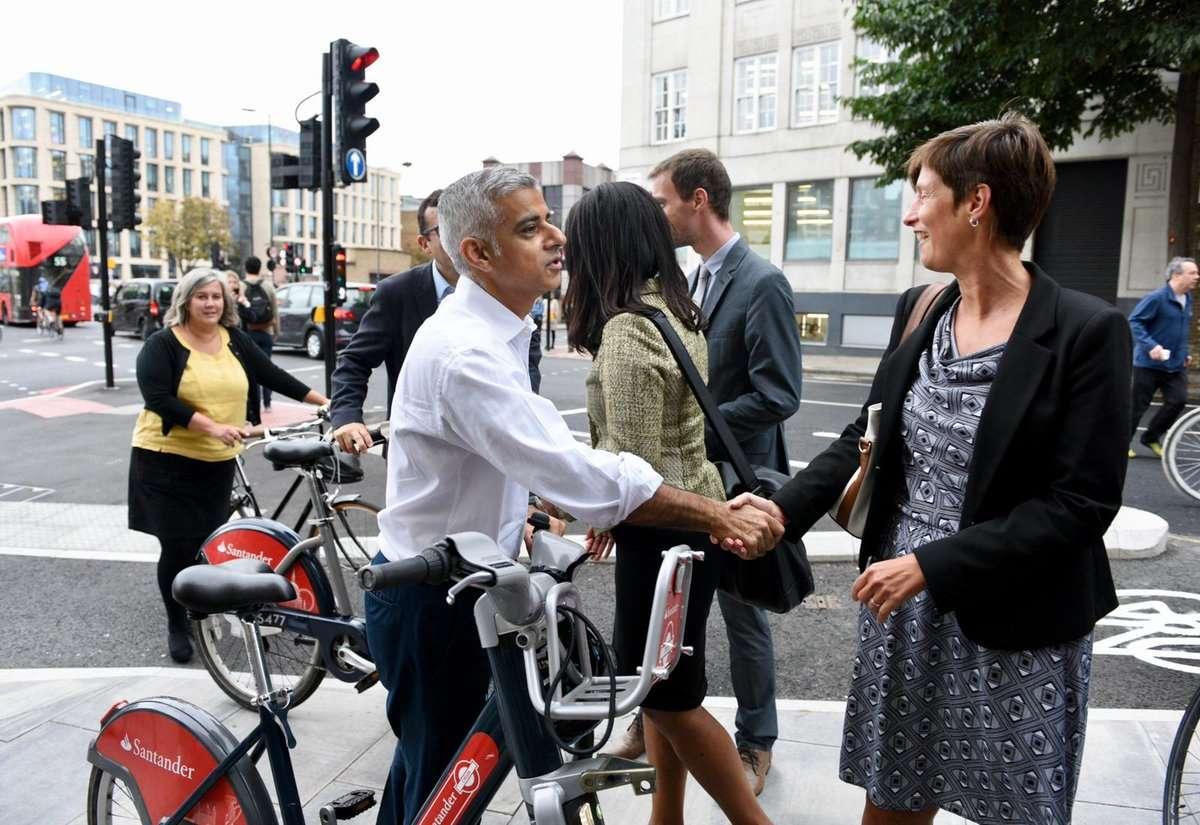 londra corsi online bicicletta