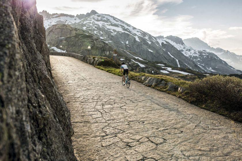 BMC Road Bike Shooting sul Grimsel Pass, Guttannen.