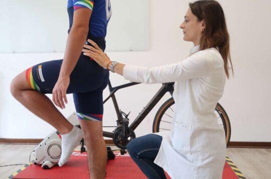 visita biomeccanica ciclista dolori