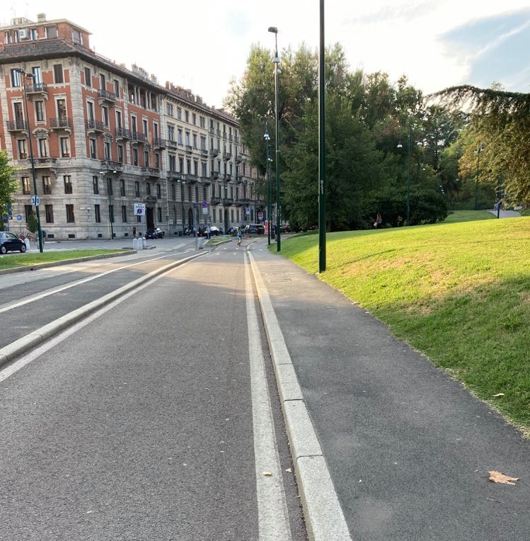 Milano ciclabile del Castello