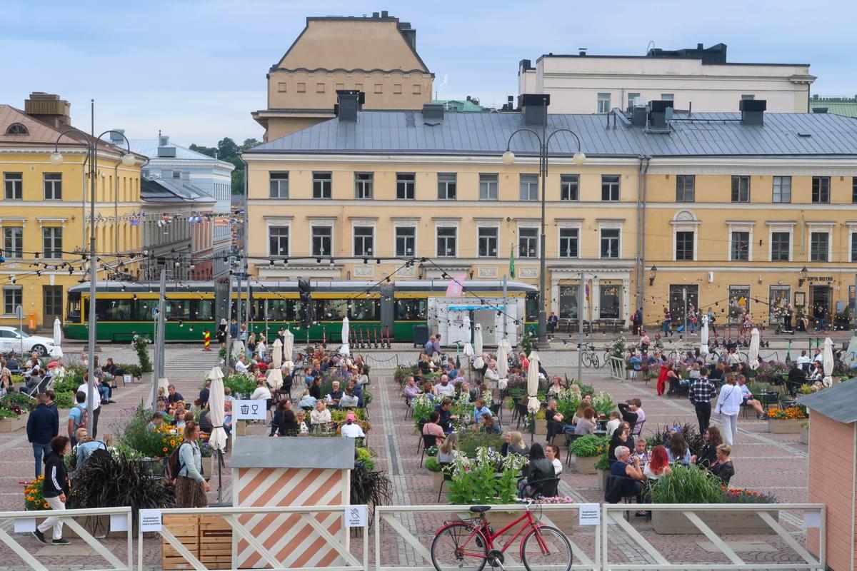 finlandia helsinki in bicicletta