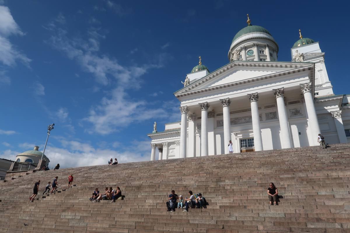 Helsinki in bicicletta