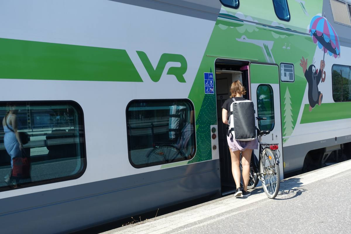 finlandia in bicicletta ferrovie VR