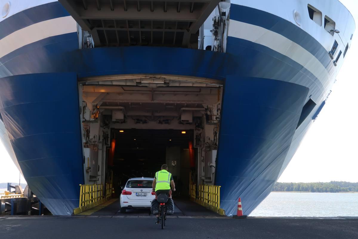 Finlandia in bicicletta trasporto