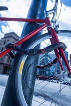 Bici legata con catena Abus Ivy Chain