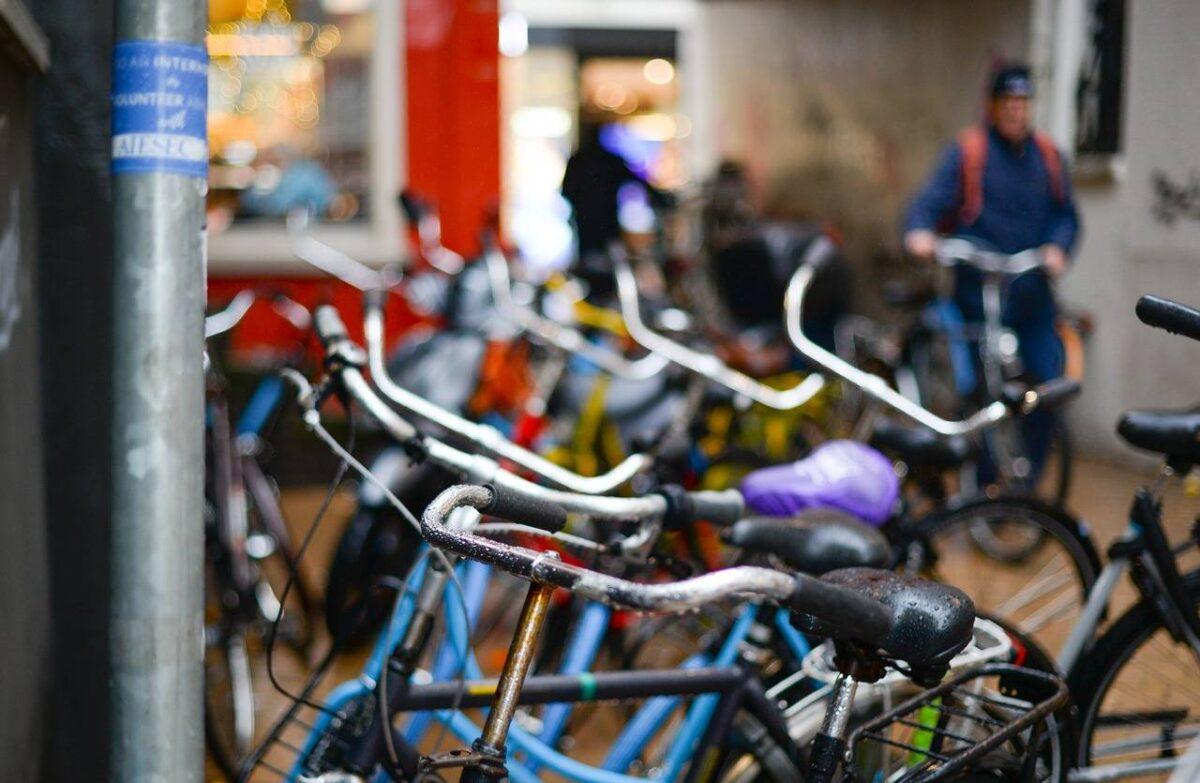 Bici parcheggio eventi UK