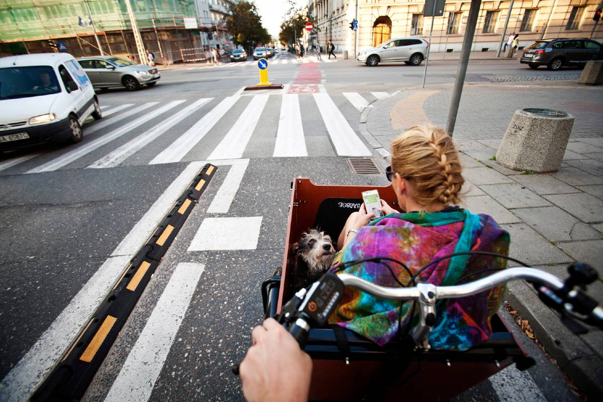 cargo bike città sana