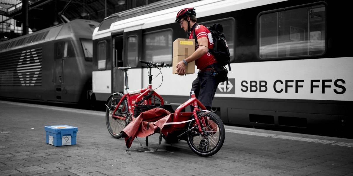 Cargo bike trasporto merci intermodalità