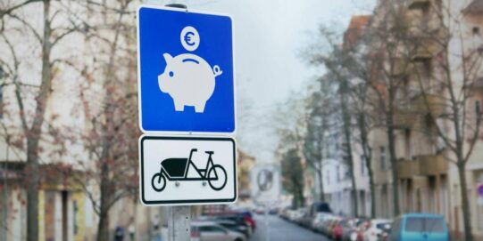 Cargo bike bikenomics