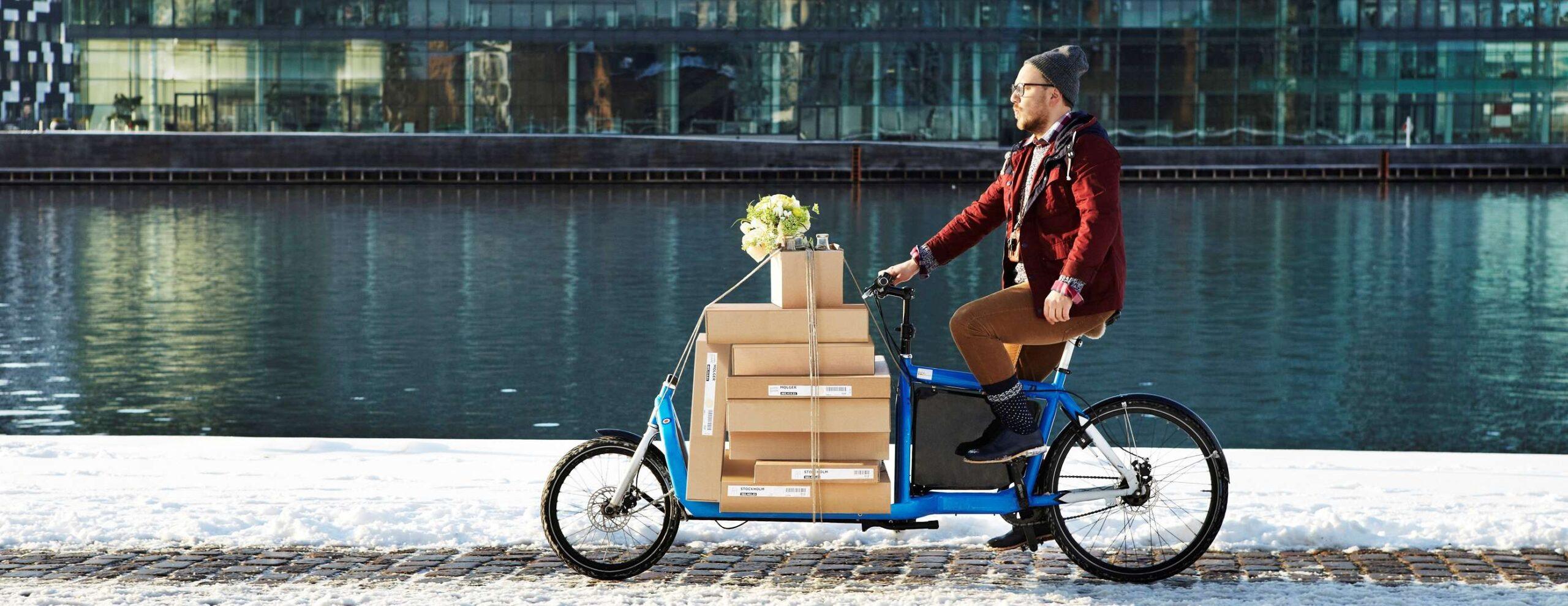 cargo bike IKEA