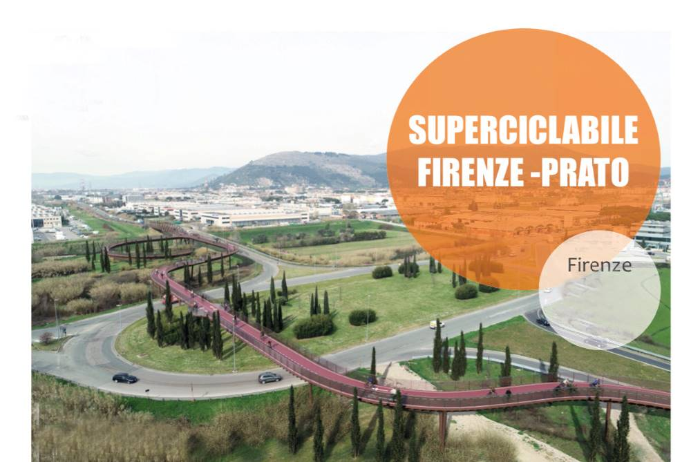 superciclabile firenze prato