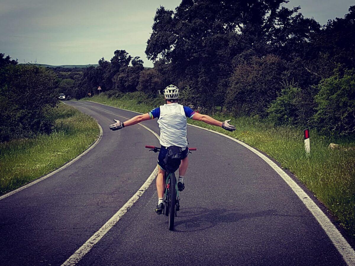 Lo sballo del ciclista