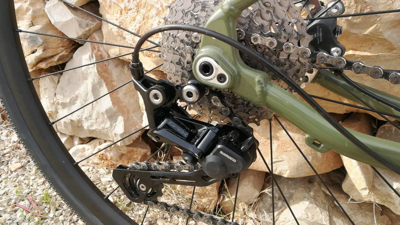 Cambio Shimano GRX gravel - Bergamont Grandurance 6