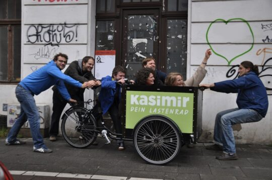 Cargo bike sharing Kasimir