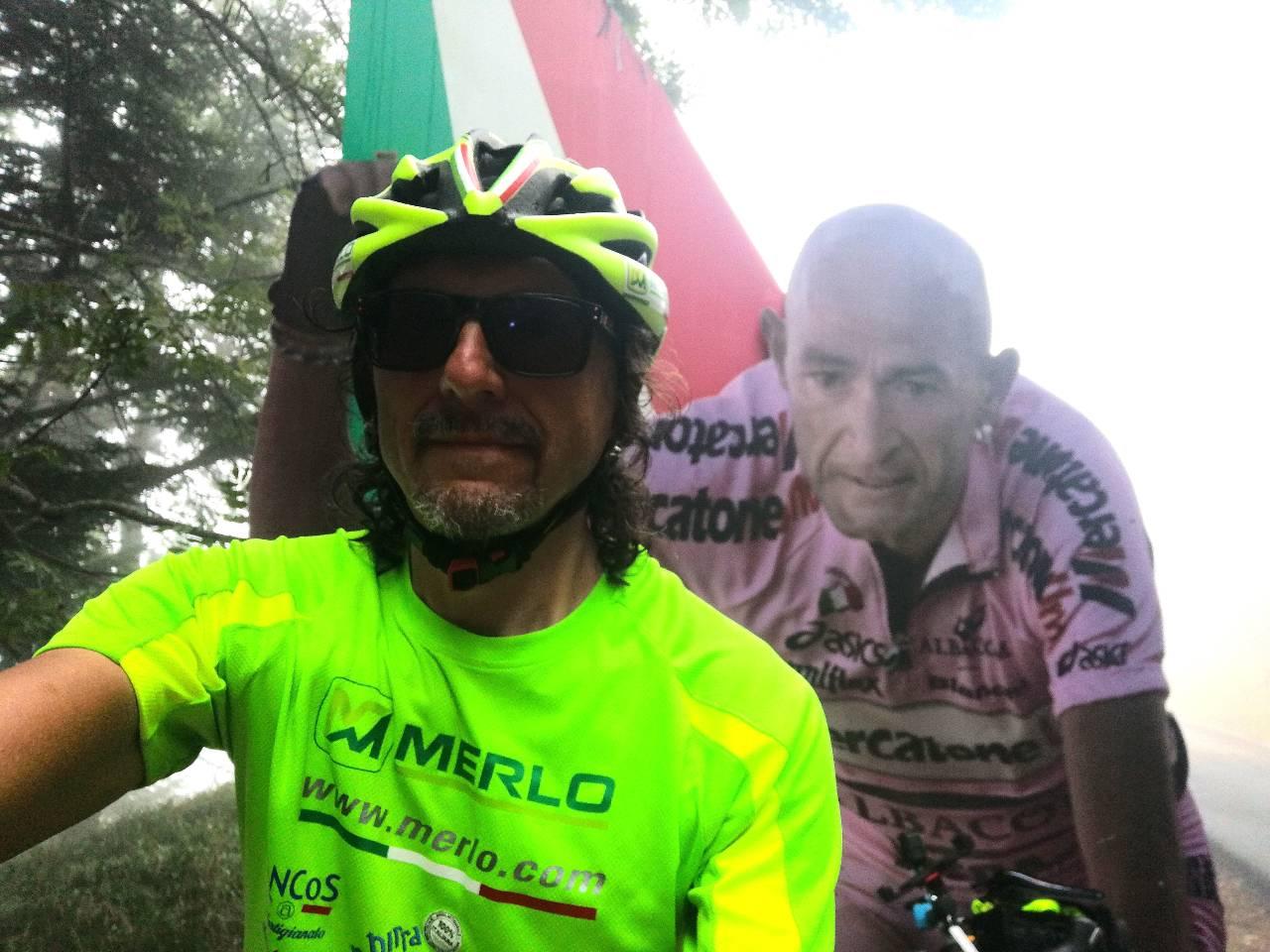 Sul Carpegna nel ricordo di Marco Pantani - Giovanni Panzera