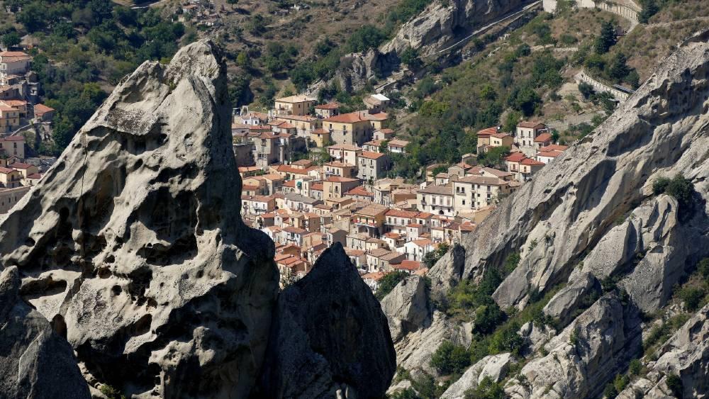 Panorama dalle Dolomiti Lucane - Giovanni Panzera