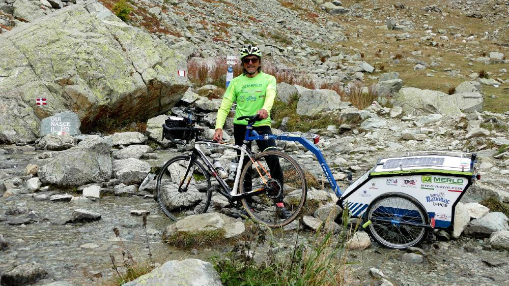 In bici a Pian del Re