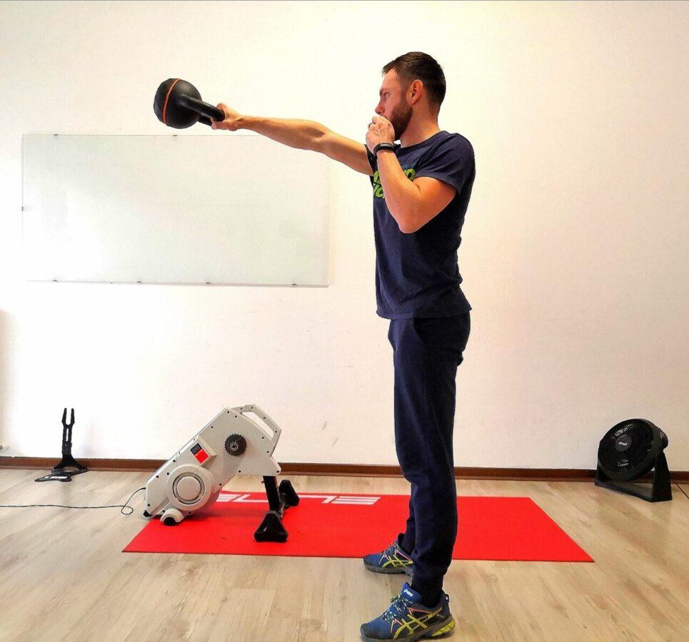 kettlebell resistenza aerobica