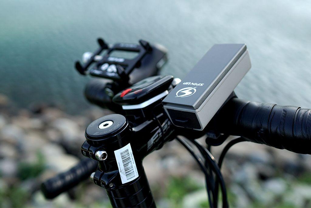 SpinUp dinamo luce per bici