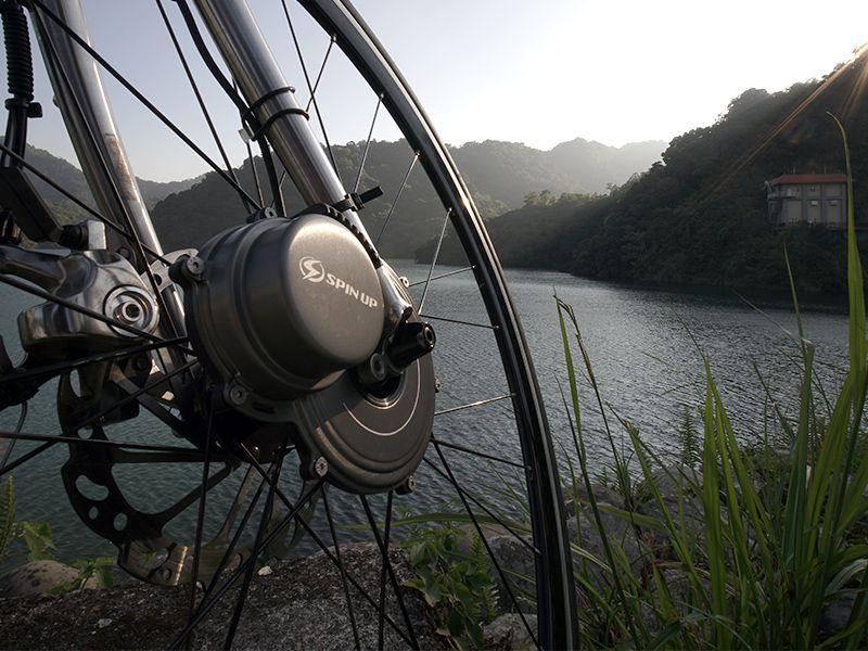 SpinUp luce bici dinamo