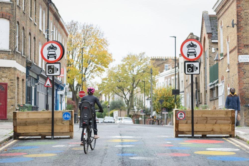 Londra quartieri basso traffico
