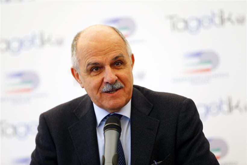 Renato Di Rocco presidente uscente della Federciclismo (dicembre 2020)