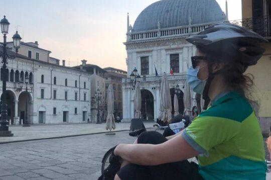 Raffaella Bonomi rider a Brescia