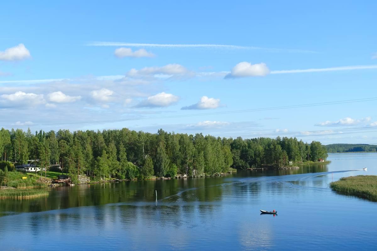 finlandia cicloturismo lago saimaa puumala