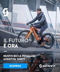 Nuova bici a pedalata assistita SCOTT