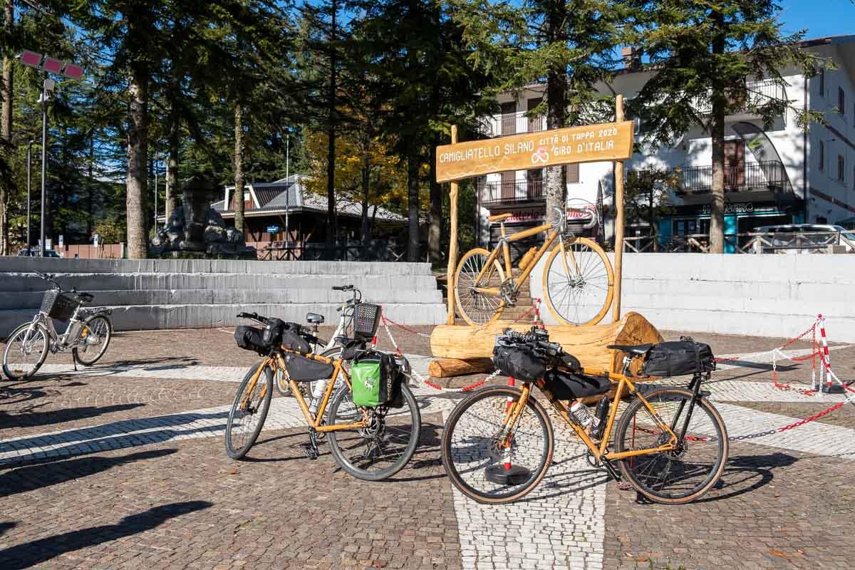 In bici lungo la Ciclovia dei Parchi della Calabria