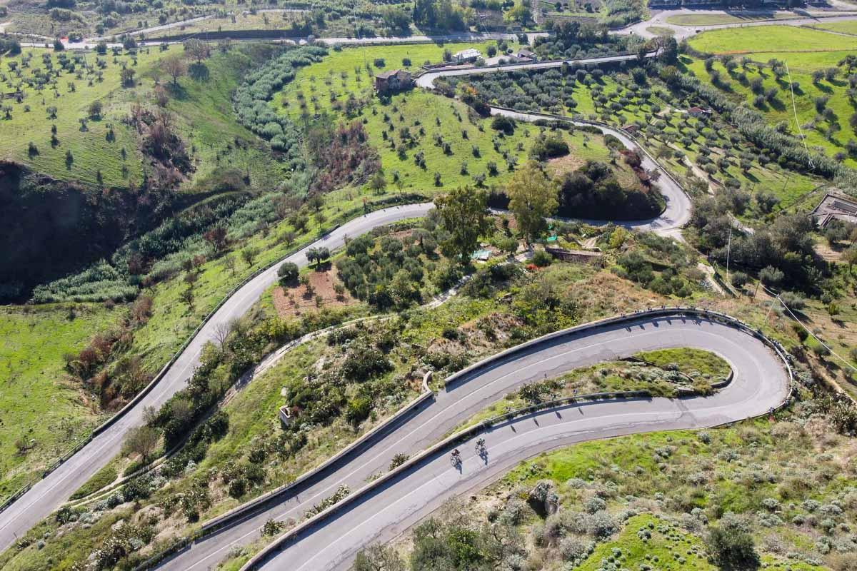 Ciclovia dei Parchi della Calabria strade immerse nel verde