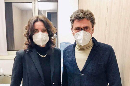 Norma Gimondi e Silvio Martinello