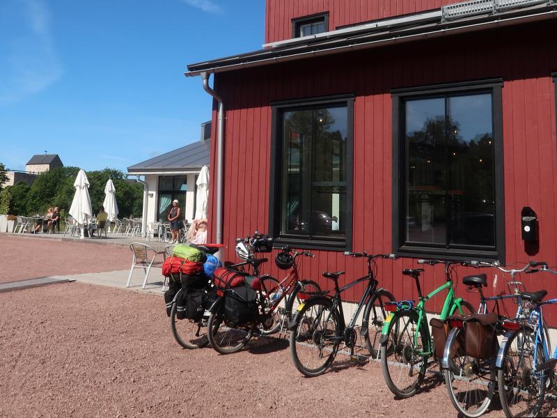 ristorante Smakbyn Aland in bicicletta
