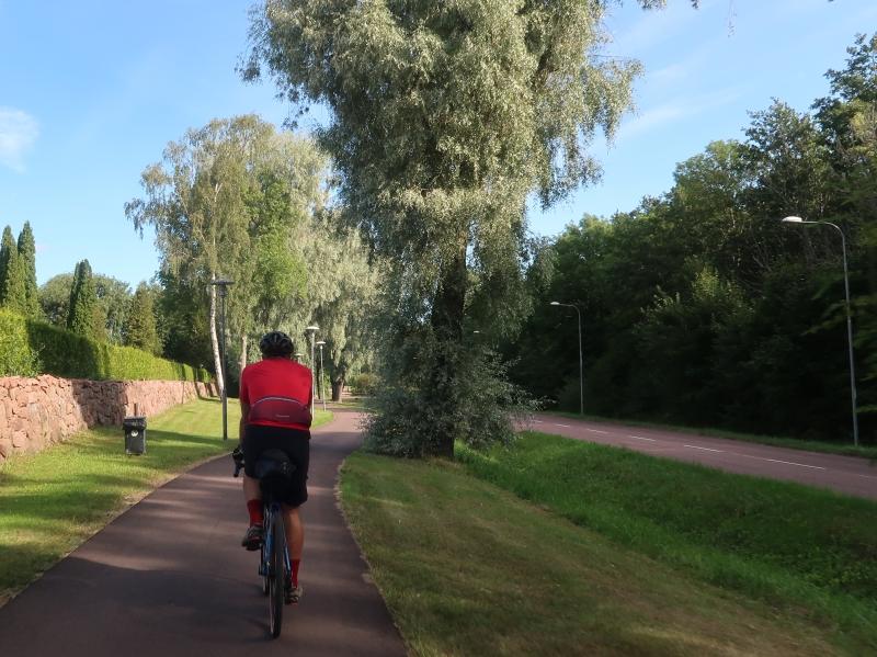 finlandia aland in bicicletta