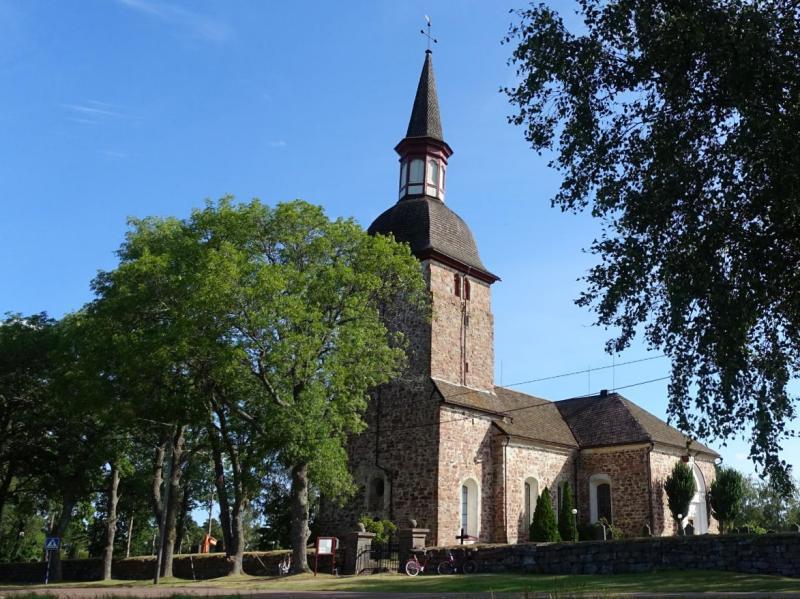 chiesa di s.olaf isole aland finlandia