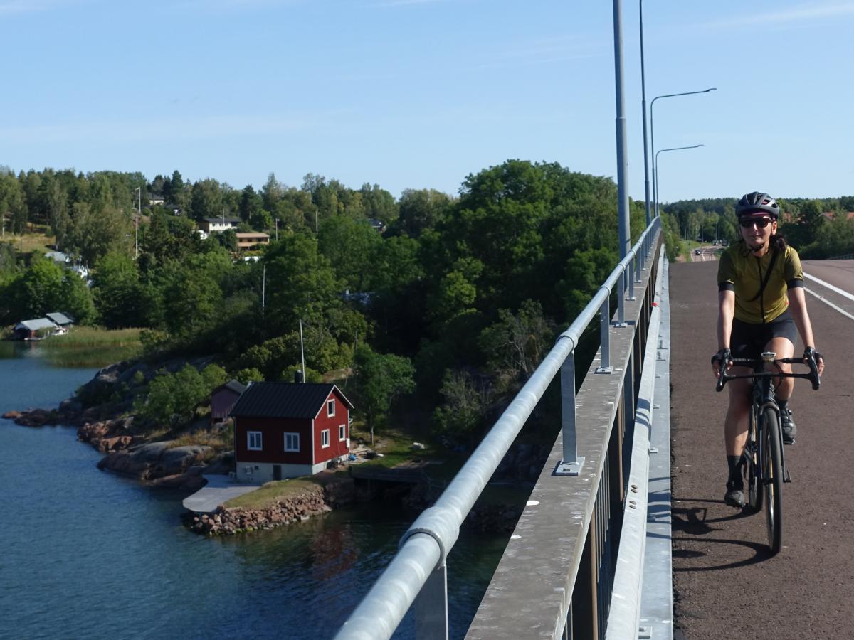 finlandia cicloturismo aland in bicicletta