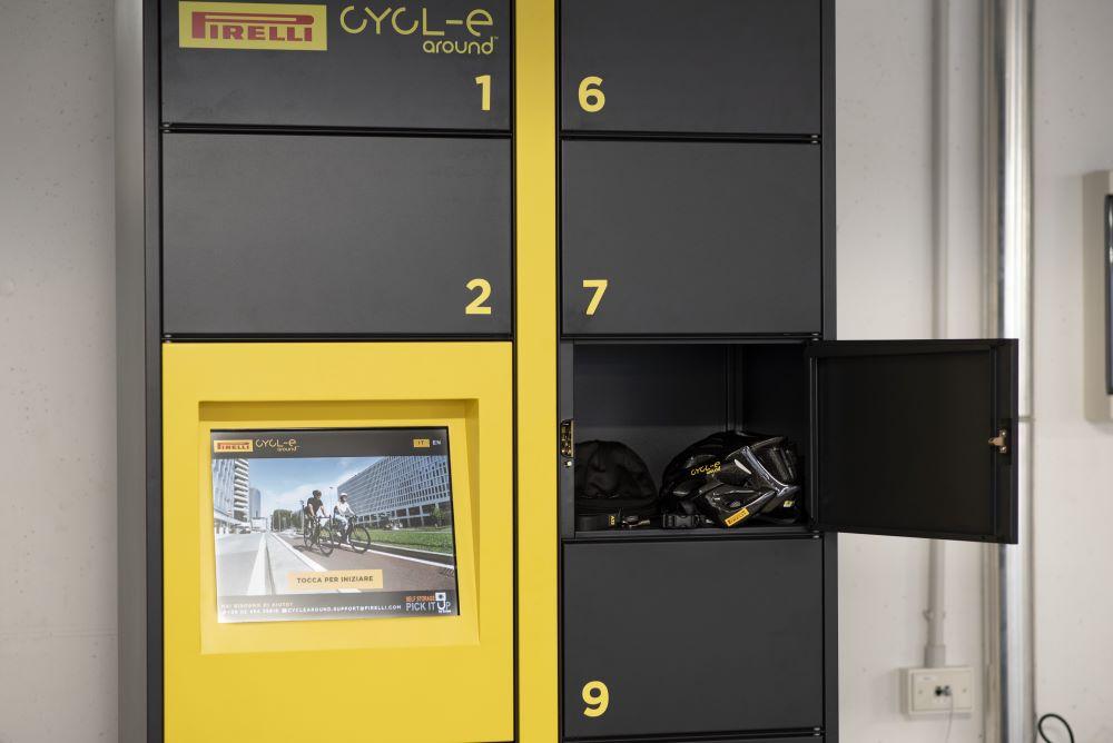 bici a noleggio aziende Pirelli CYCL-e around